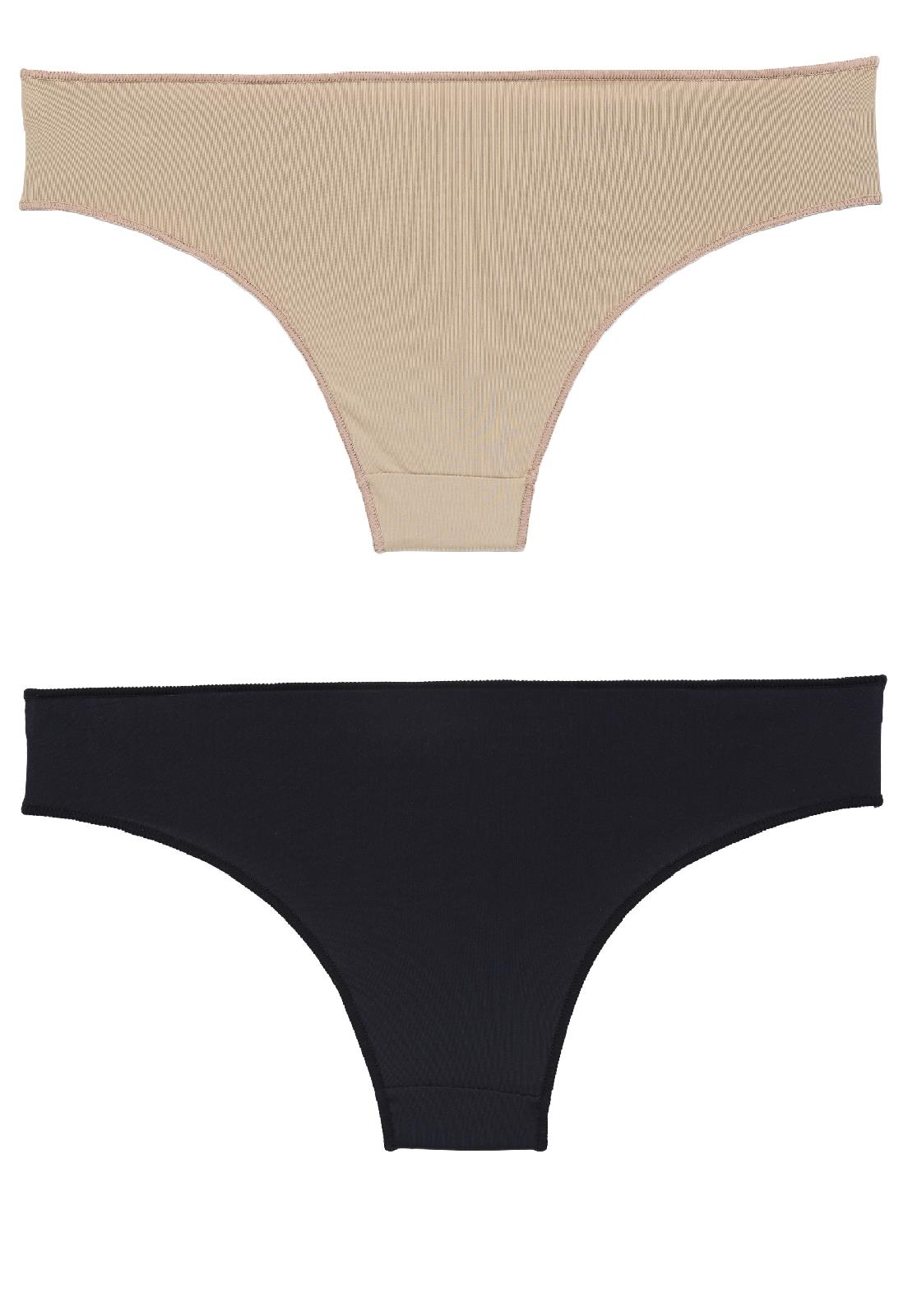 Kit Duas Calcinhas Básicas Bonjour by HOPE - Le Lingerie d1e1db84e5c