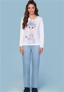 Pijama 100% Algodão Feminino Cold Lua Encantada