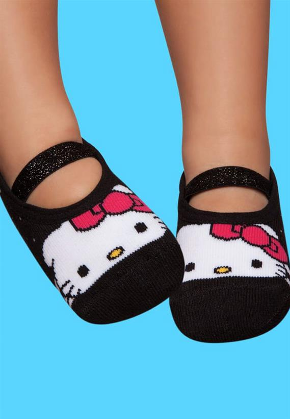 20de86c6079634 Meia Sapatilha Boneca Hello Kitty 3737 Puket