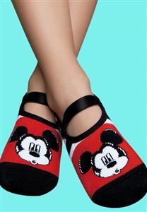 Meia Sapatilha Mickey Mouse 3538 Puket