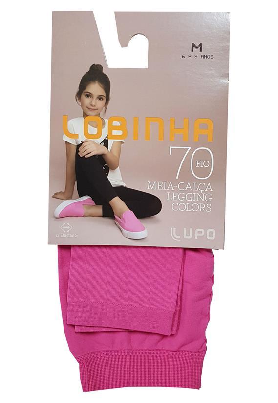 ee9a8dfeca Meia Calça Legging Infantil Lupo Colors 2595-001