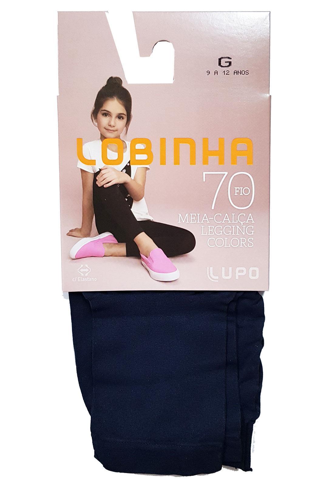 a10af68cd Meia Calça Legging Infantil Lupo Colors 2595-001