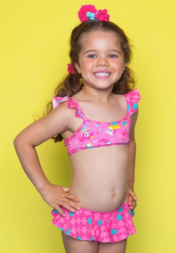 04b0ad7e5 Biquíni Kids Gata Sereia Puket