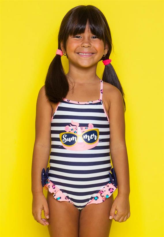 0ef07fd3202213 Maiô Kids Onça Navy Summer Puket