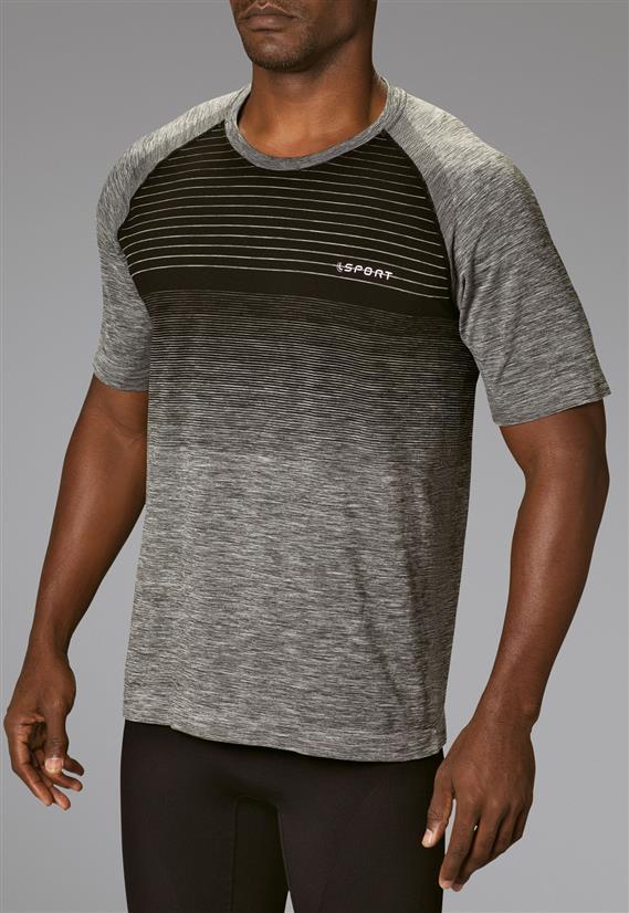 Camiseta Masculina Fitness Stripes 70677 Lupo