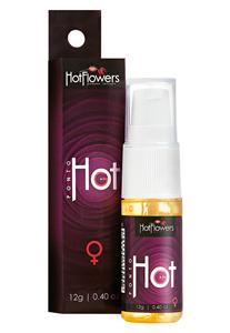 Gel Corporal Ponto Hot G Hot Flowers 12g