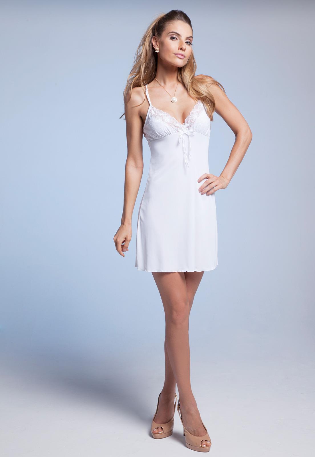 e9b251ccc Camisola Branca para Noivas sem Bojo Darling - Confira Agora!