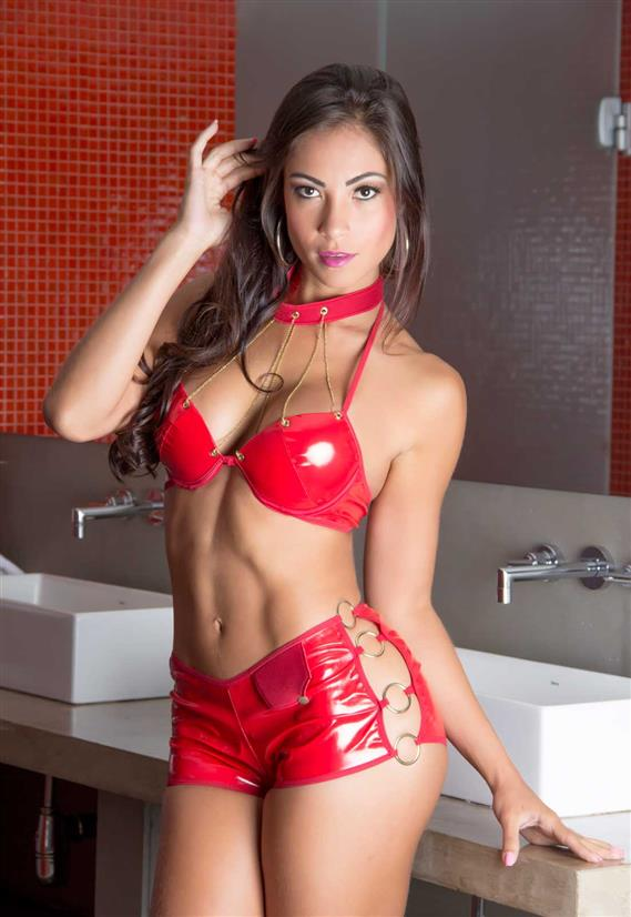 Fantasia Bombeira Sexy Garota Veneno
