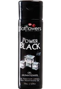 Gel Hidratante Corporal Power Black Iced Hot Flowers