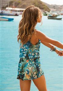 Vestido de Alcinha De Chelles Acqua
