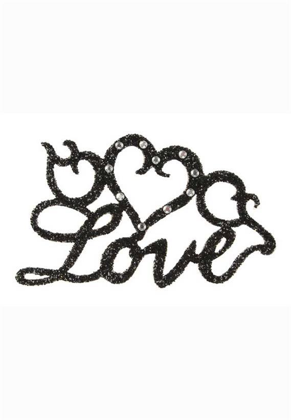 Tatuagem Adesiva Love Bijoux de Pele