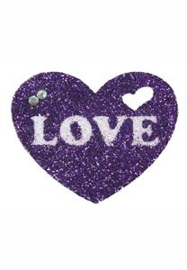 Tatuagem Adesiva Coração com Love Bijouz de Pele