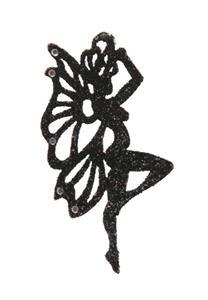 Tatuagem Adesiva Fadinha Glitter e Strass Bijoux de Pele