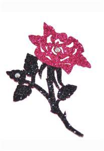 Tatuagem Adesiva Rosa Bijoux de Pele