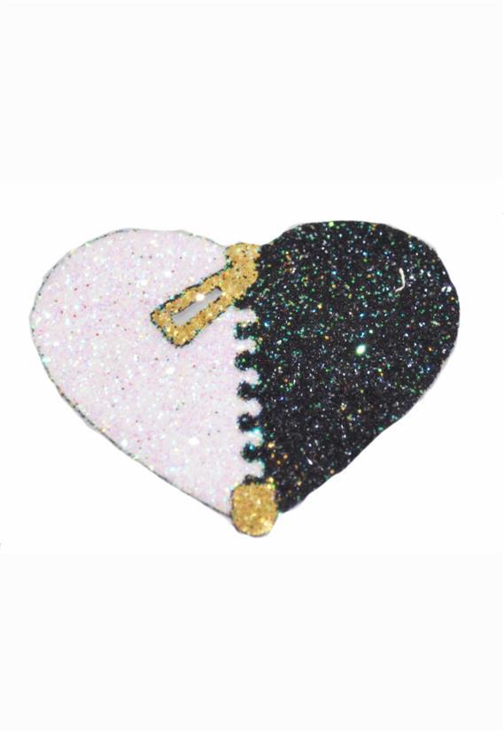 Tatuagem Adesiva Coração com Zíper Bijoux de Pele