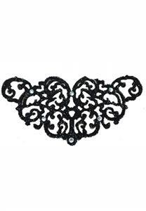 Tatuagem Adesiva Tribal de Flores Bijoux de Pele