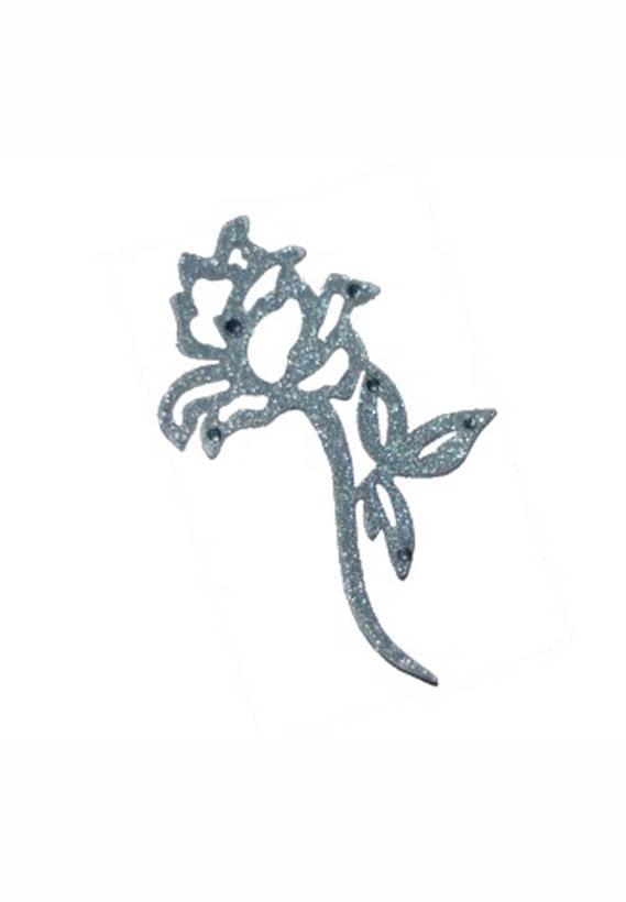 Tatuagem Adesiva Jóia de Pele Rosa Bijoux de Pele