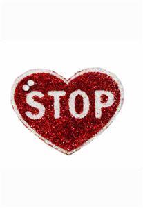 Tatuagem Adesiva Coração Stop Bijoux de Pele