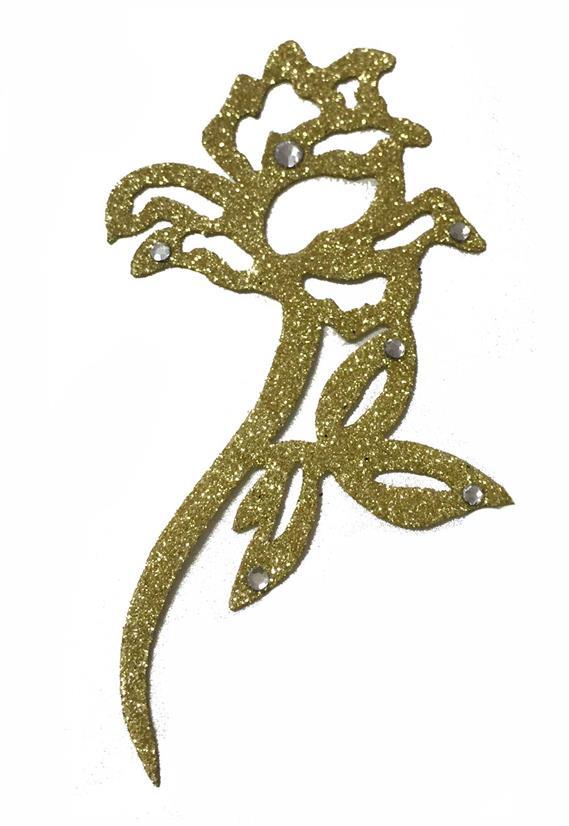 Tatuagem Adesiva Jóia de Pele Rosa Bijoux de Pele II