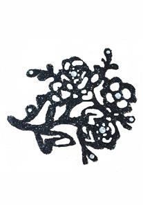 Tatuagem Adesiva Flores com Strass Bijoux de Pele II