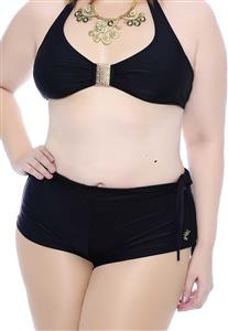 Shorts Plus Size em Lycra Lisa Belle Plage