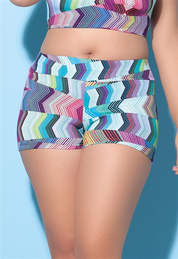 Shorts Plus Size em Lycra Sizély